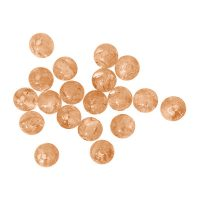 Polaris Elements 8mm | peach | crystal iride | pakje van 20 stuks