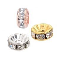 Rhinestone beads / Rondelles