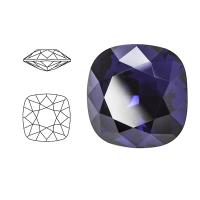 Swarovski Elements | square cushion cut stone | SS4470 (10 x 10mm) | dark indigo | prijs per stuk