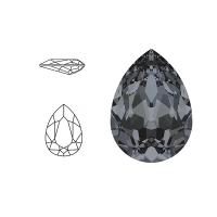 Swarovski Elements | pear fancy stone | SS4320 (14 x 10mm) | crystal - silver night | prijs per stuk