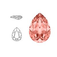 Swarovski Elements | pear fancy stone | SS4320 (14 x 10mm) | rose peach | prijs per stuk
