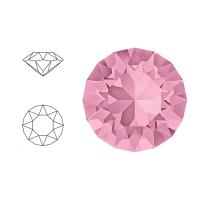 Swarovski Elements | xirius pointed chaton | 1088-SS29 (6,23mm) | light rose | pakje van 12 stuks