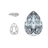 Swarovski Elements | pear fancy stone | SS4320 (14 x 10mm) | crystal - blue shade | prijs per stuk