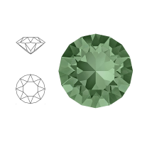 Swarovski Elements | xirius pointed chaton | 1088-SS29 (6,23mm) | erinite | pakje van 12 stuks