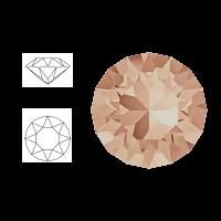 Swarovski Elements | pointed chaton SS29 (6,23mm) | light peach | pakje van 12 stuks