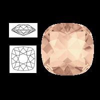 Swarovski Elements | square cushion cut stone | SS4470 (10 x 10mm) | light peach | prijs per stuk