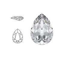 Swarovski Elements | pear fancy stone | SS4320 (14 x 10mm) | crystal | prijs per stuk