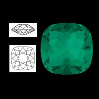 Swarovski Elements | square cushion cut stone | SS4470 (10 x 10mm) | emerald | prijs per stuk