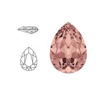 Swarovski Elements | pear fancy stone | SS4320 (14 x 10mm) | blush rose | prijs per stuk