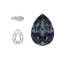 Swarovski Elements | pear fancy stone | SS4320 (14 x 10mm) | graphite | prijs per stuk