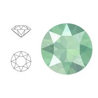 Swarovski Elements | xirius pointed chaton | 1088-SS29 (6,23mm) | crystal - mint green | pakje van 12 stuks