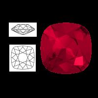Swarovski Elements | square cushion cut stone | SS4470 (10 x 10mm) | scarlet | prijs per stuk