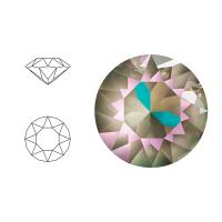 Swarovski Elements | xirius pointed chaton | 1088-SS29 (6,23mm) | crystal - army green delite | pakje van 12 stuks
