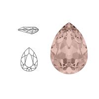 Swarovski Elements | pear fancy stone | SS4320 (14 x 10mm) | vintage rose | prijs per stuk