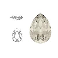 👍 Bestel Swarovski Elements | pear fancy stone | SS4320 (14 x 10mm) | crystal - moonlight | prijs per stuk online bij Seasidebeads 👍 -