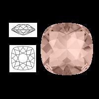 Swarovski Elements | square cushion cut stone | SS4470 (10 x 10mm) | vintage rose | prijs per stuk