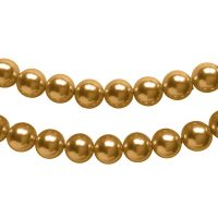 Top Japanese Quality | pearl beads 8mm | bronze | pakje van 20 stuks