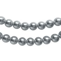 Top Japanese Quality | pearl beads 8mm | light grey | pakje van 20 stuks