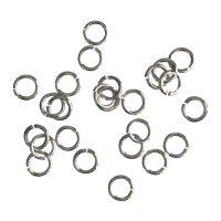 Jump Ring 5x0,8mm   silver   top quality   10 gr = +- 176 stuks