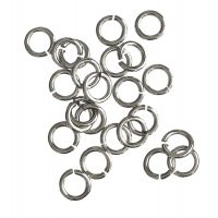 Jump Ring 7x1,2mm   silver   basic quality   10 gr = +- 57 stuks