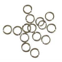Jump Ring 8x1,2mm   silver   basic quality   10 gr = +- 49 stuks