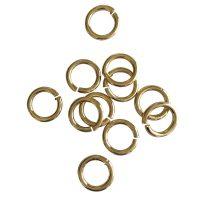 Jump Ring 10x1,5mm   gold   top quality   10 gr = +- 25 stuks
