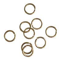 Jump Ring 12x1,5mm   gold   top quality   10 gr = +- 21 stuks