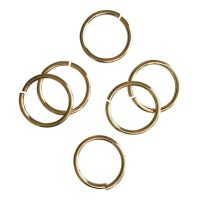 Jump Ring 16x1,5mm   gold   top quality   10 gr = +- 15 stuks